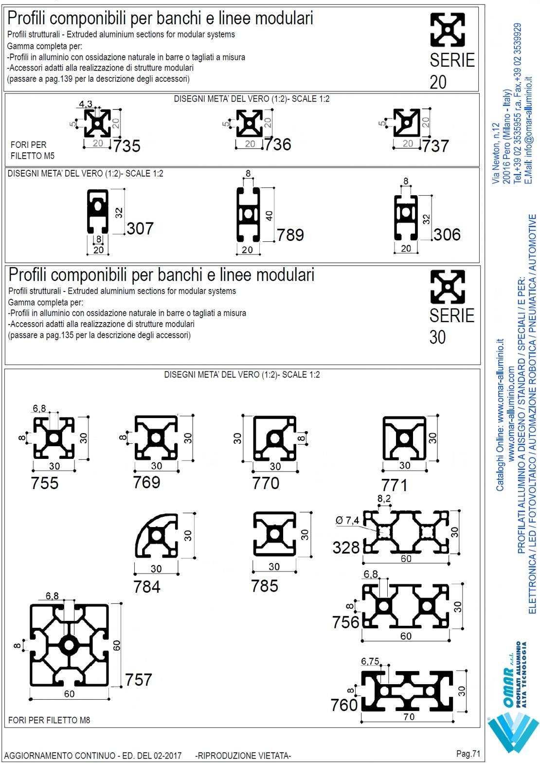 Profili In Alluminio Modulari Profili In Alluminio Strutturali